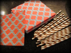 napkins! and straws!